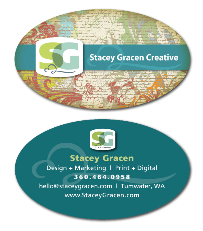 My business card
