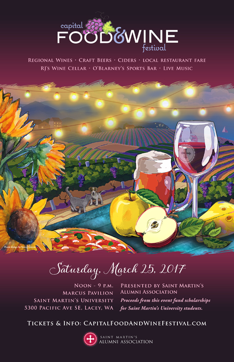 Capital Food Wine Festival Poster